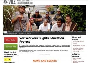 Screenshot of www.portlandvoz.org